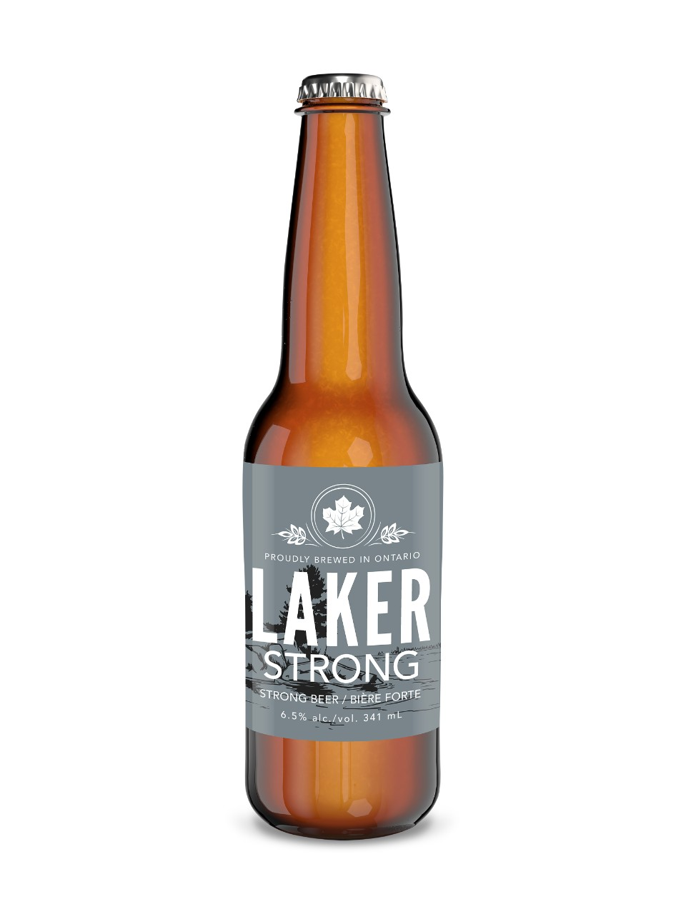 Image for Laker Strong Lager Beer from LCBO
