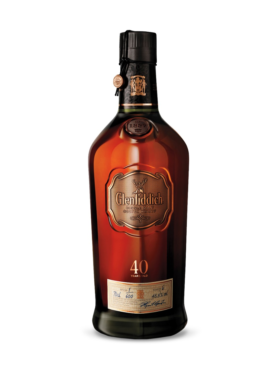 Glenfiddich 40-Year-Old Rare Collection Single Malt