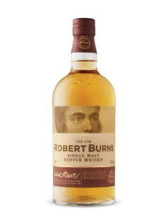 Robert Burns Arran Single Malt Scotch Whisky