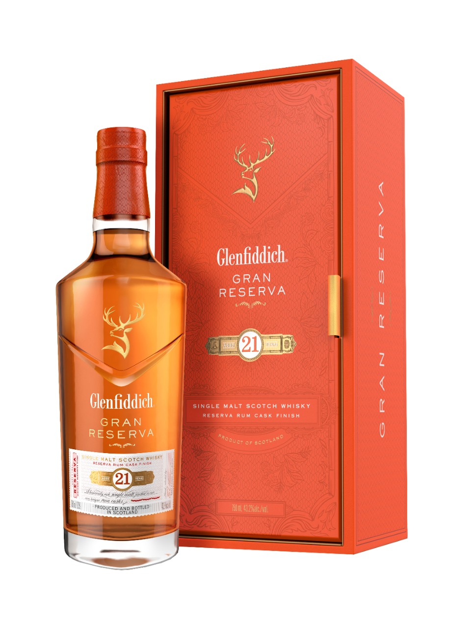 Glenfiddich Gran Reserva 21 Year Old Single Malt Scotch
