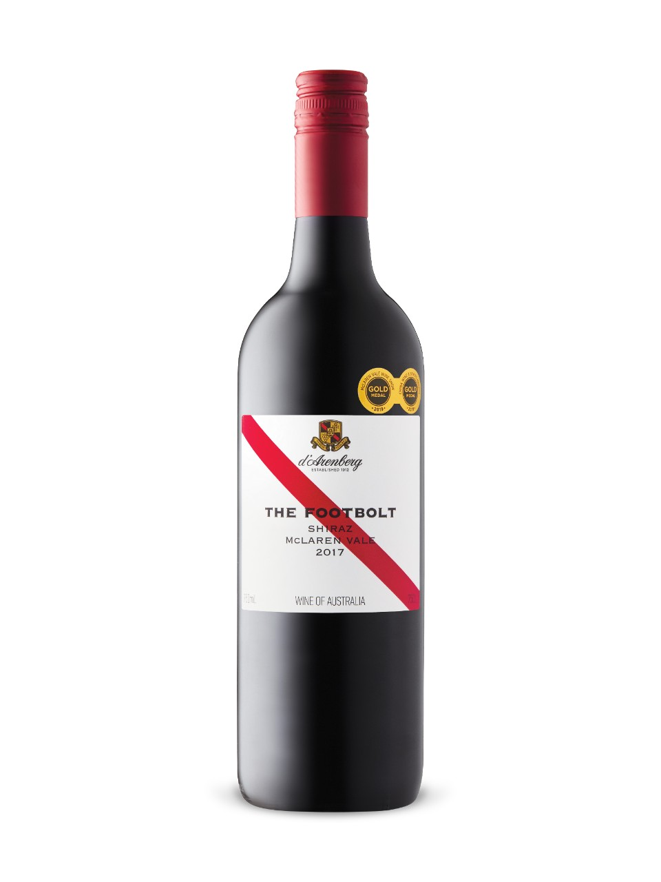 d'Arenberg The Footbolt Shiraz 2017 from LCBO
