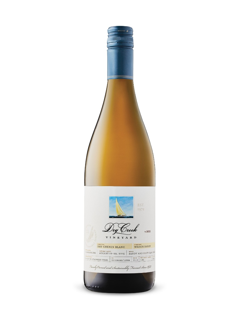 Dry creek vineyard dry chenin blanc 2015 lcbo for Chenin blanc