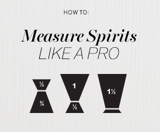 How to measure spirits like a pro