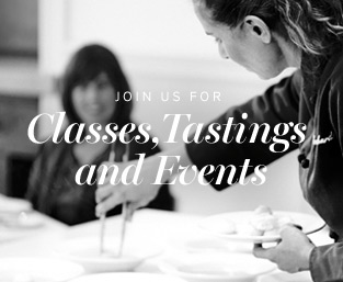 Classes, tastings and events