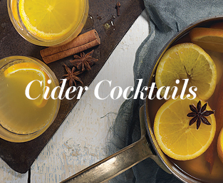 Cider cocktails