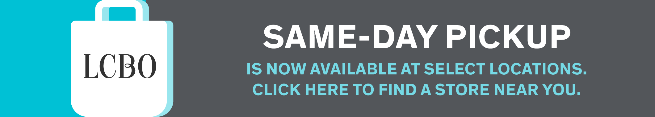 Same-Day Pickup is now available at select locations. Click here to find a store near you.