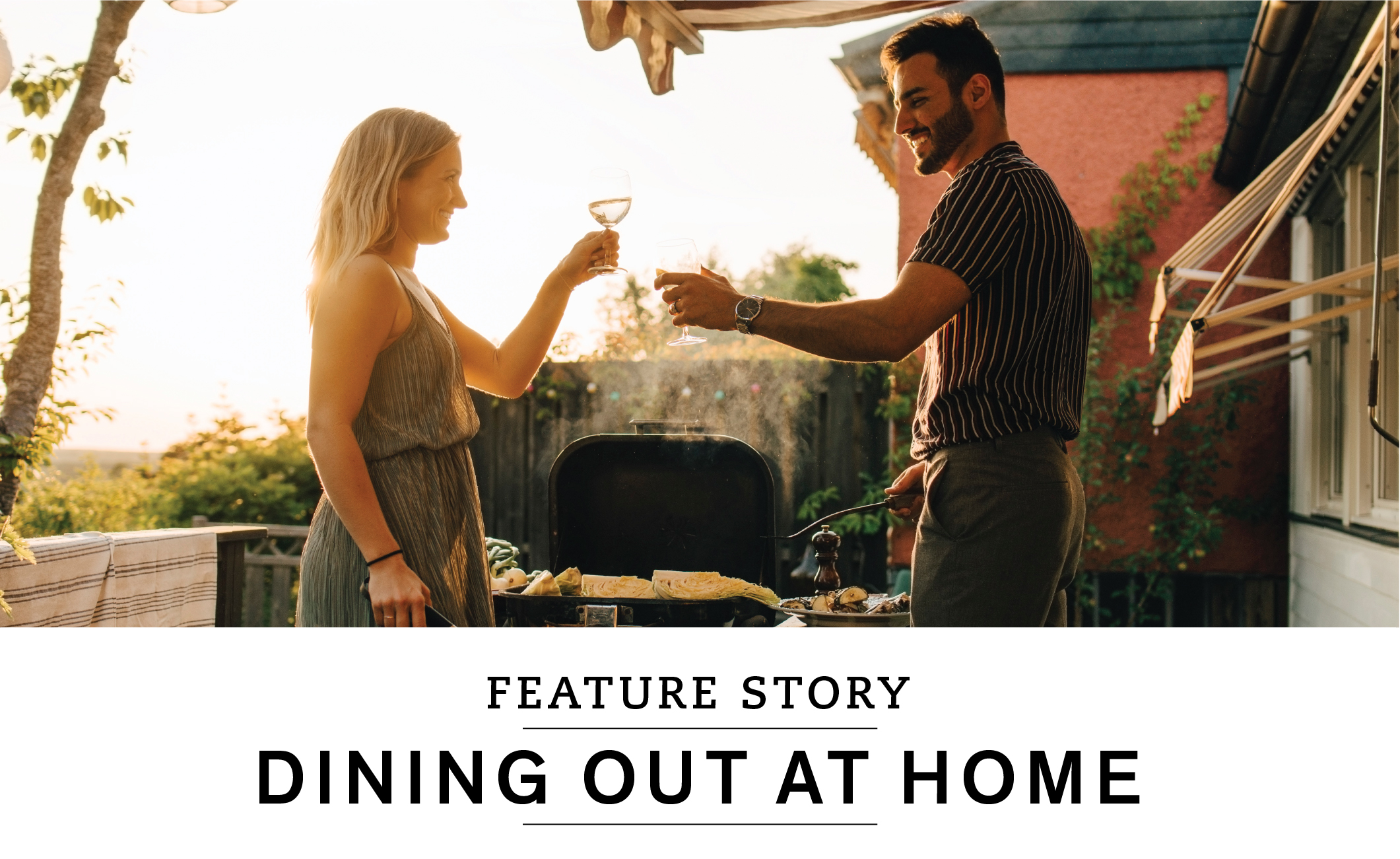 FEATURE STORY: Dining out at home