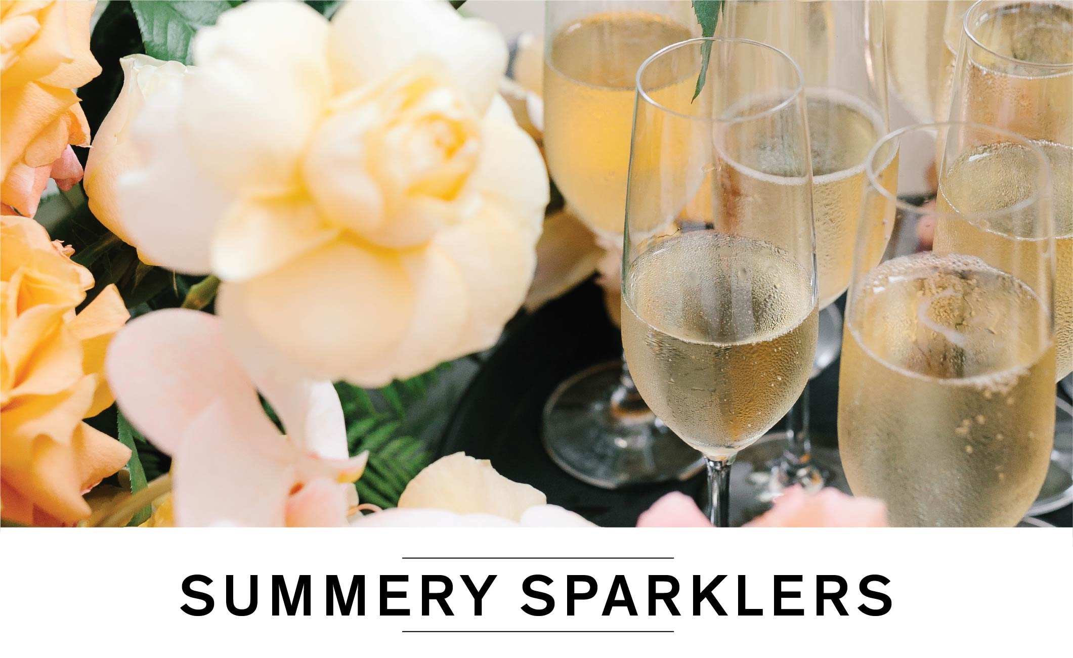 SUMMERY SPARKLERS