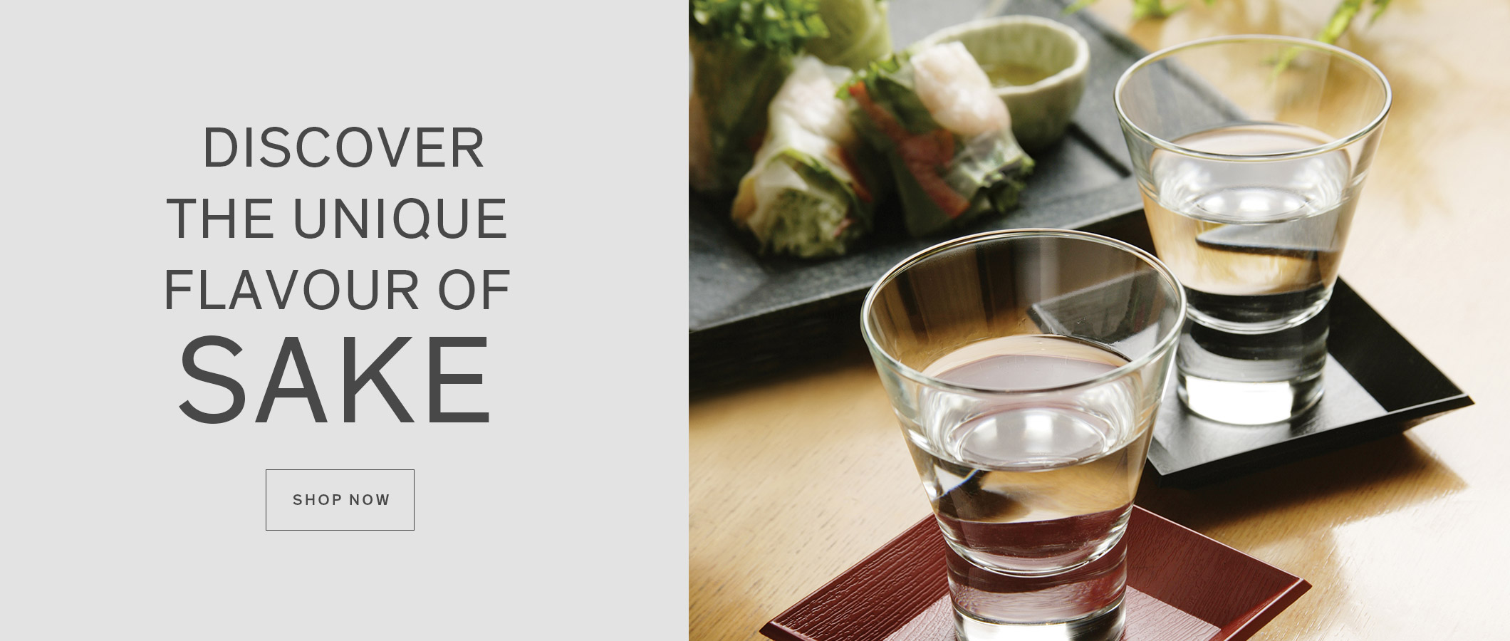 Explore our collection of sake products