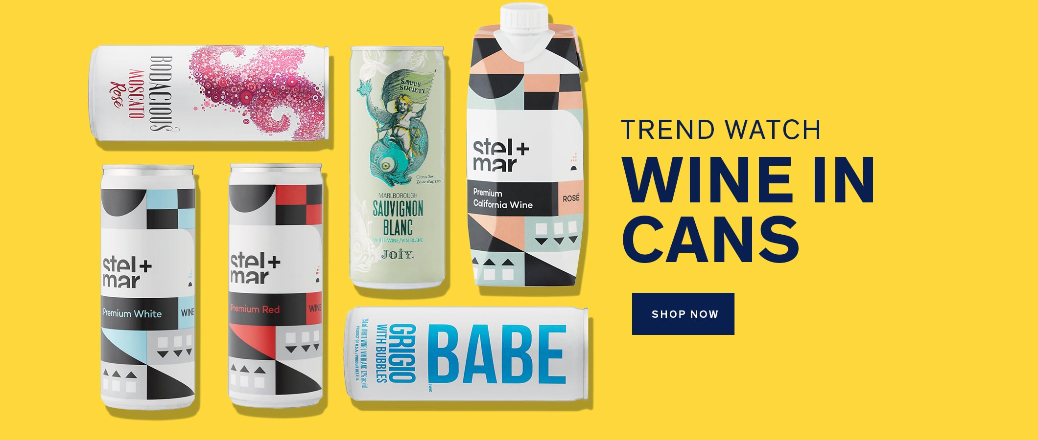 Trend Watch Wine in Cans