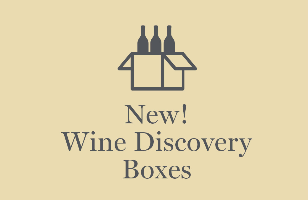 New! Wine Discovery Boxes  Shop Now